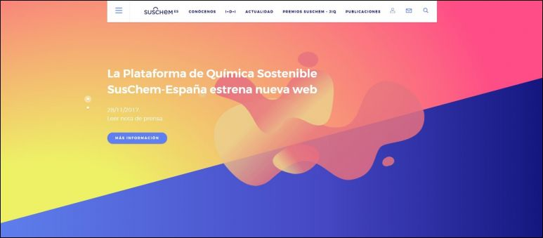 SusChem Spain: Newly rebranded website launched! « Newsroom